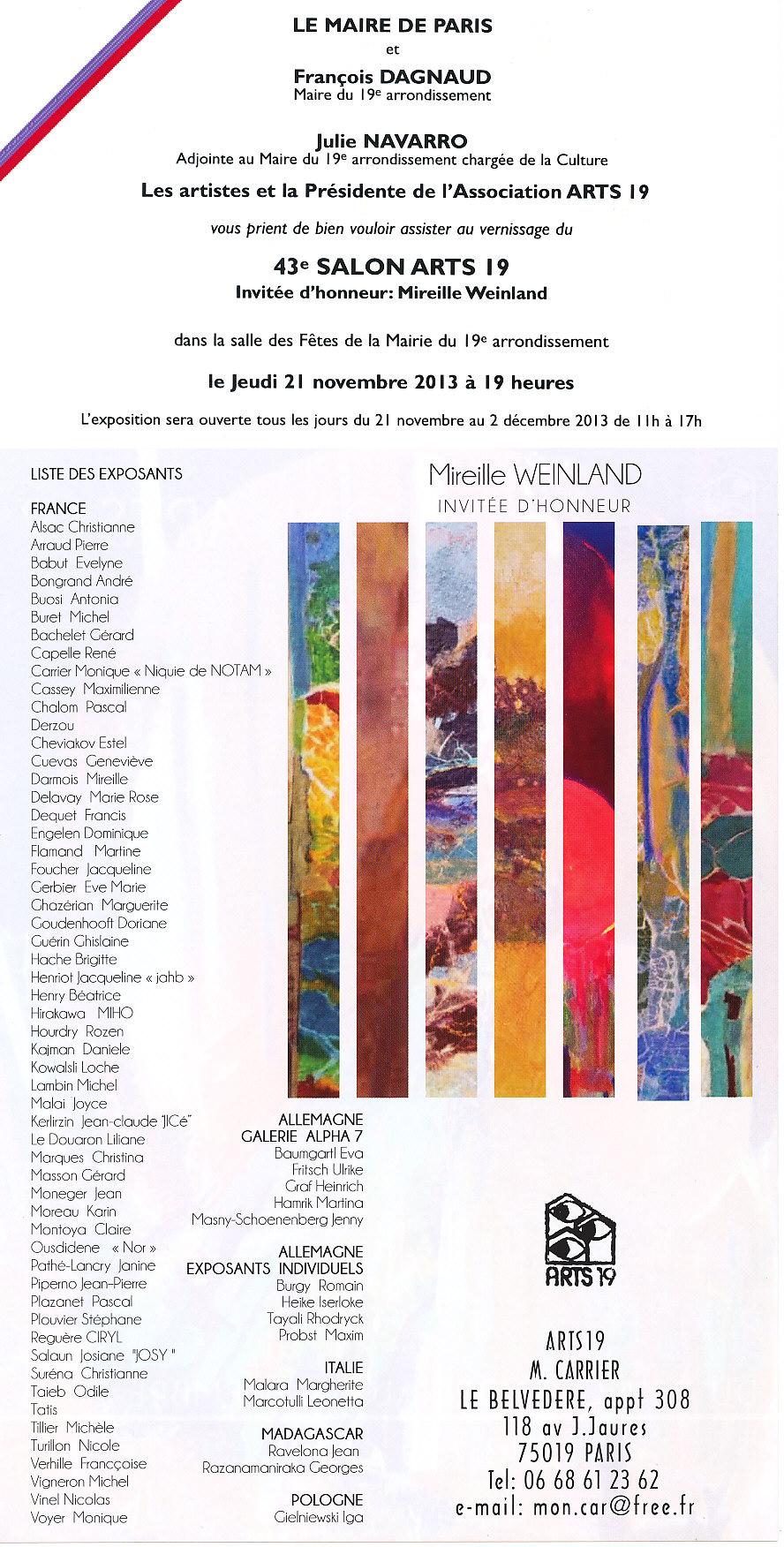 Flyer Arts 19