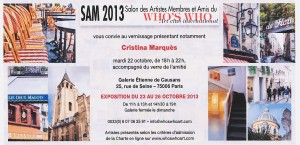 Invitation SAM 2013