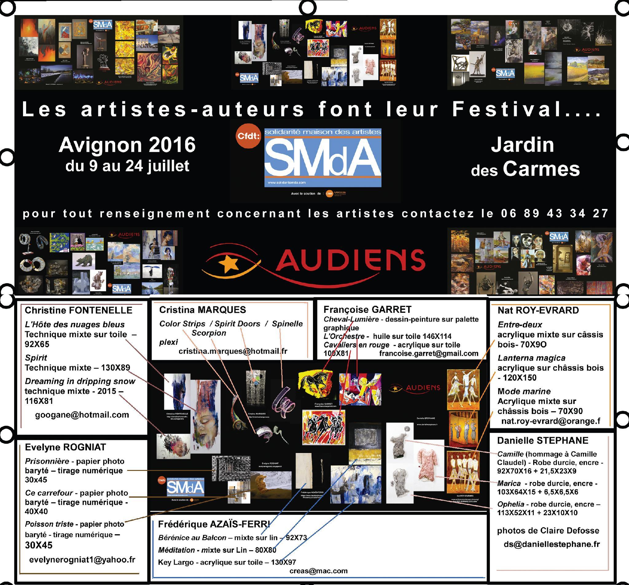 BACHE 2 - Les artistes-auteurs SMdA font...