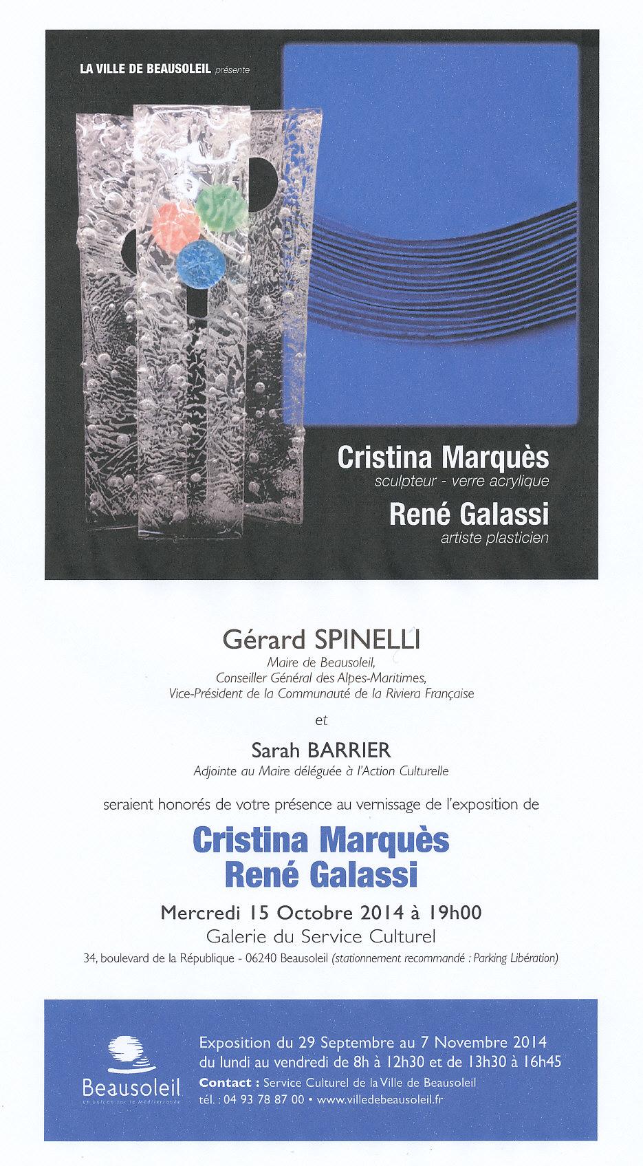 Invitation Marqués-Galassi