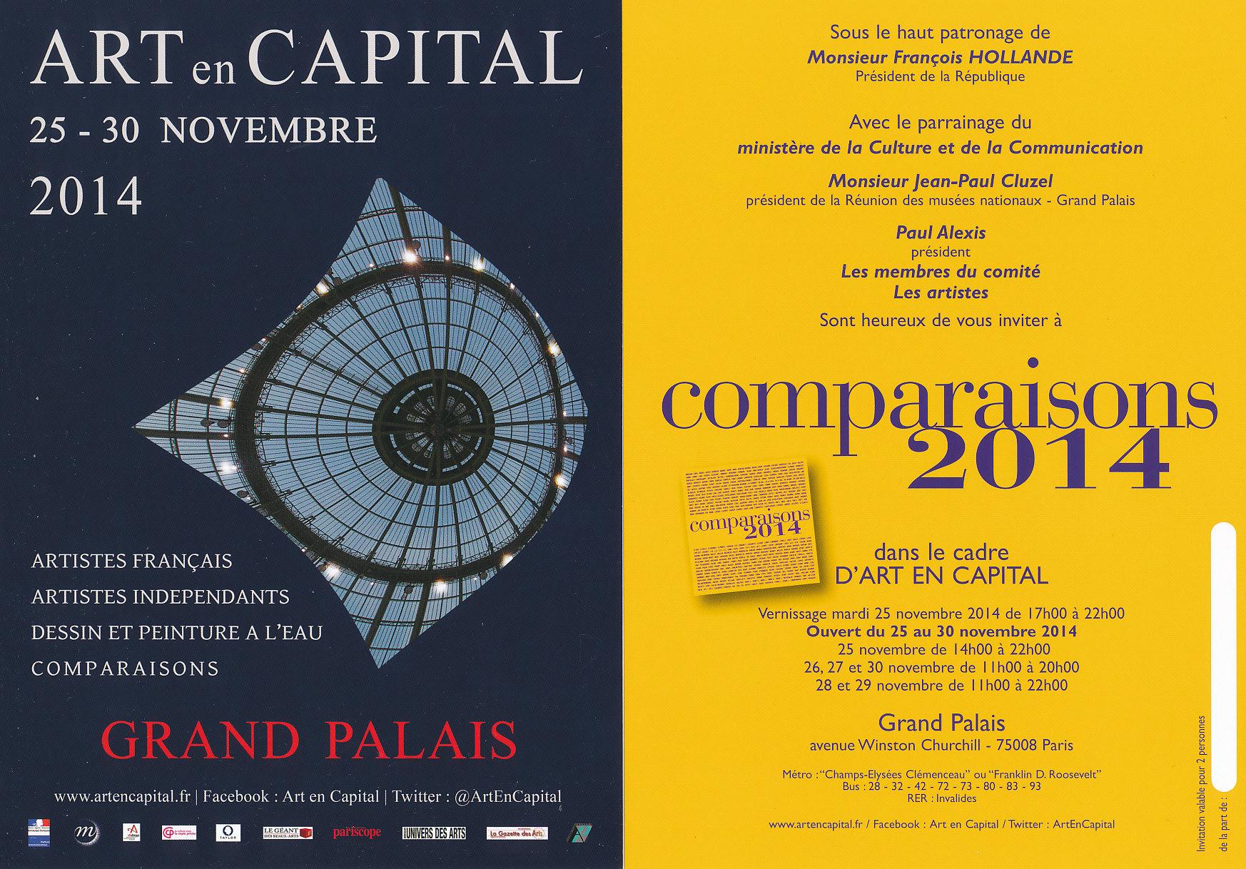 Invit Comparaisons 2014