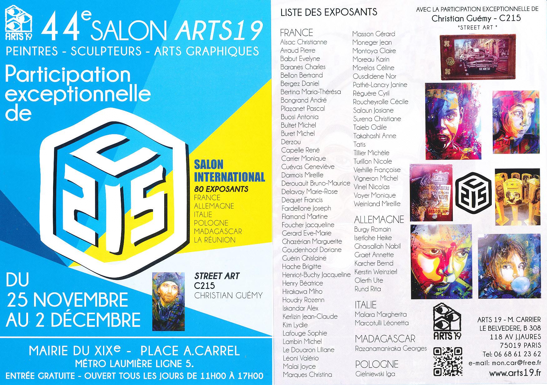 Flyer Arts 19 2014