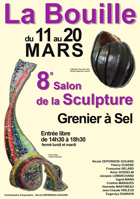 2016 salon de la sculpture