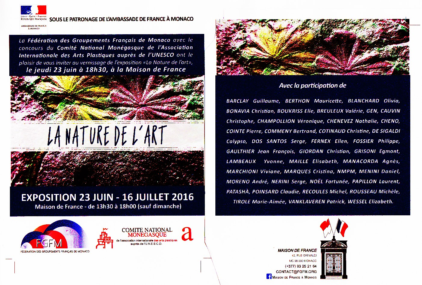Flyer Nature de l'Art_20160611