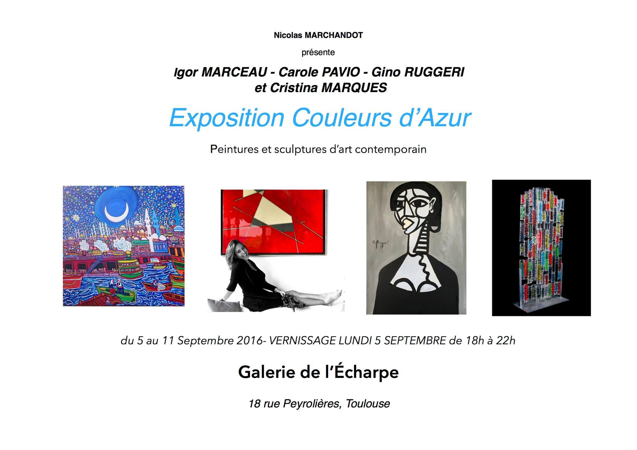Invit Gal. de l'Echarpe Toulouse Sept. 2016